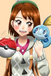 Pokemon G8 girl trainer by Emmpr