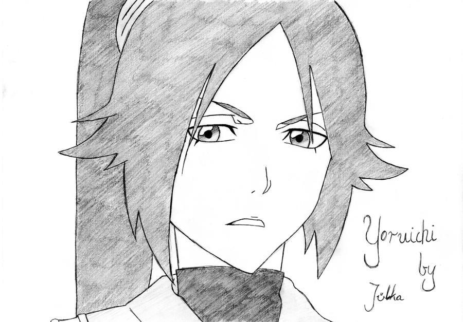 Shihoin Yoruichi by julka96