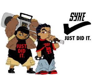 Syke, Just Did It. by Supa-Syrex