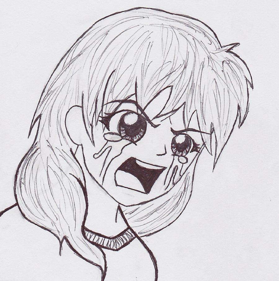 Random Anime Girl Crying by ChibiEmmyChan on DeviantArt