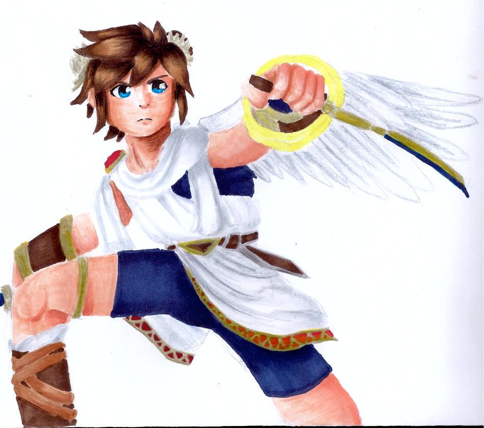 Super Smash Bros. Brawl - Pit by animanga1