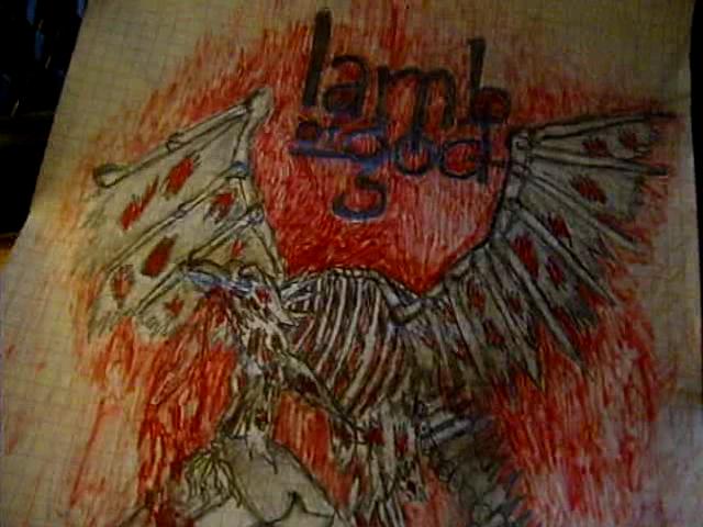 Lamb Of God Killadelphia Bird By Prajmtajm