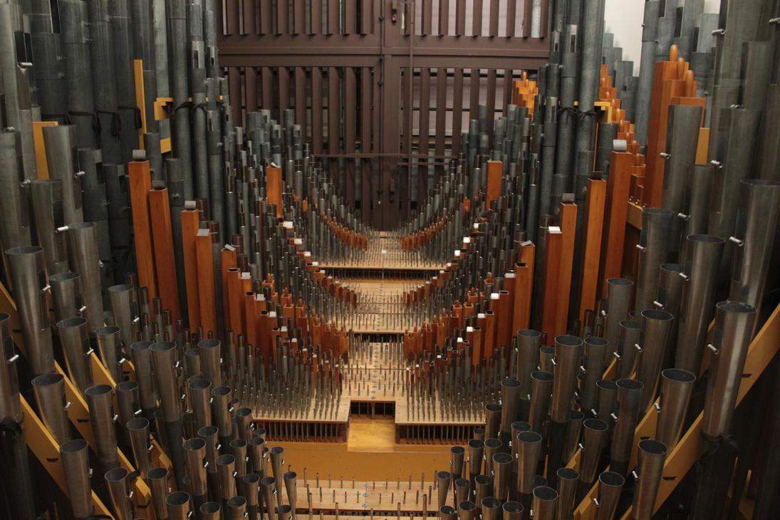 Inside of a Pipe Organ by jswis ... & Inside of a Pipe Organ by jswis on DeviantArt