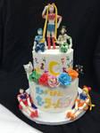 Sailor moon Cake by anime0freak97