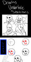 How to Draw Undertale Skeletons