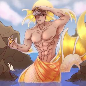 MONSTERSONA MONTH: [The Mermaid] Golden Mermaid