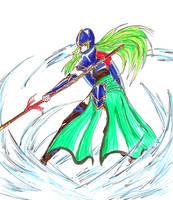 Nephenee - Fire Emblem by Zero0mtk