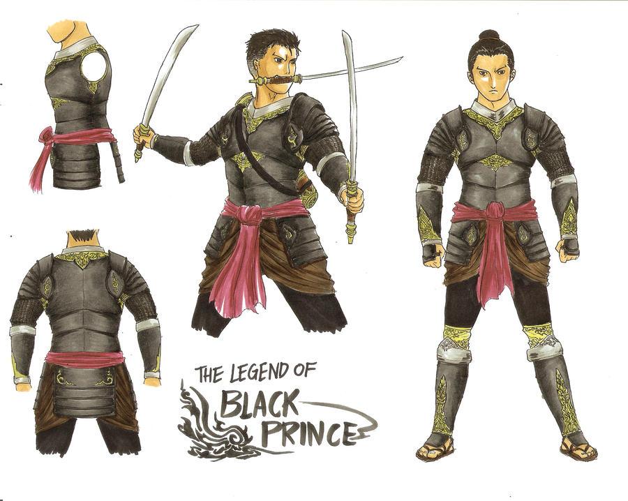 Anime Armor Design King Naresuan Armor Design by