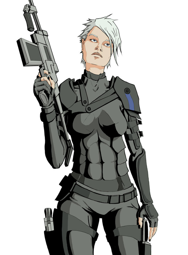 Military Fen part of her origin story by KungfuSuperstarInc