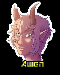 Awen - Headshot commission