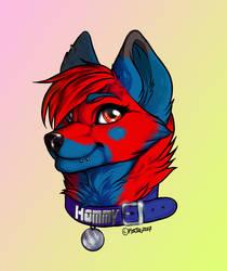 Hammy - Headshot commission
