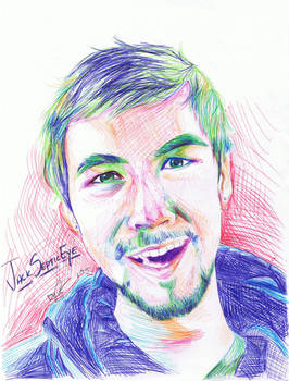 JackSepticEye Pen Portrait