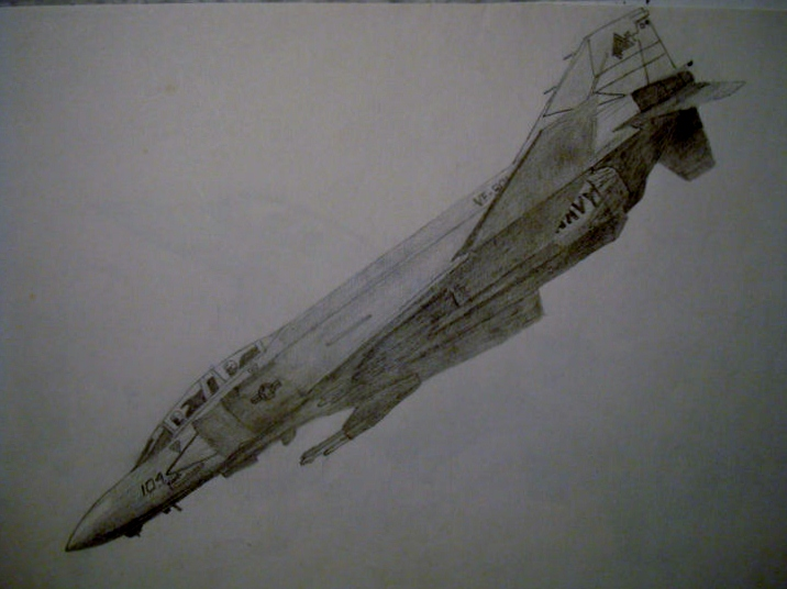 F-4 Phantom by Polonx