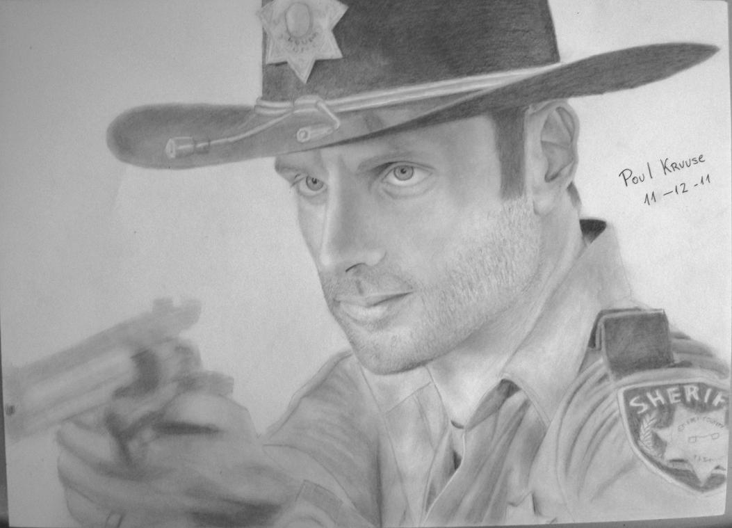 Rick Grimes - The Walking Dead by Polonx