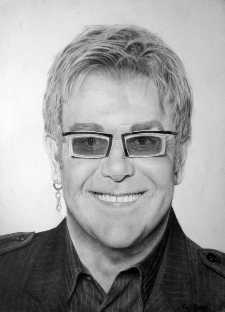 Elton John by Polonx