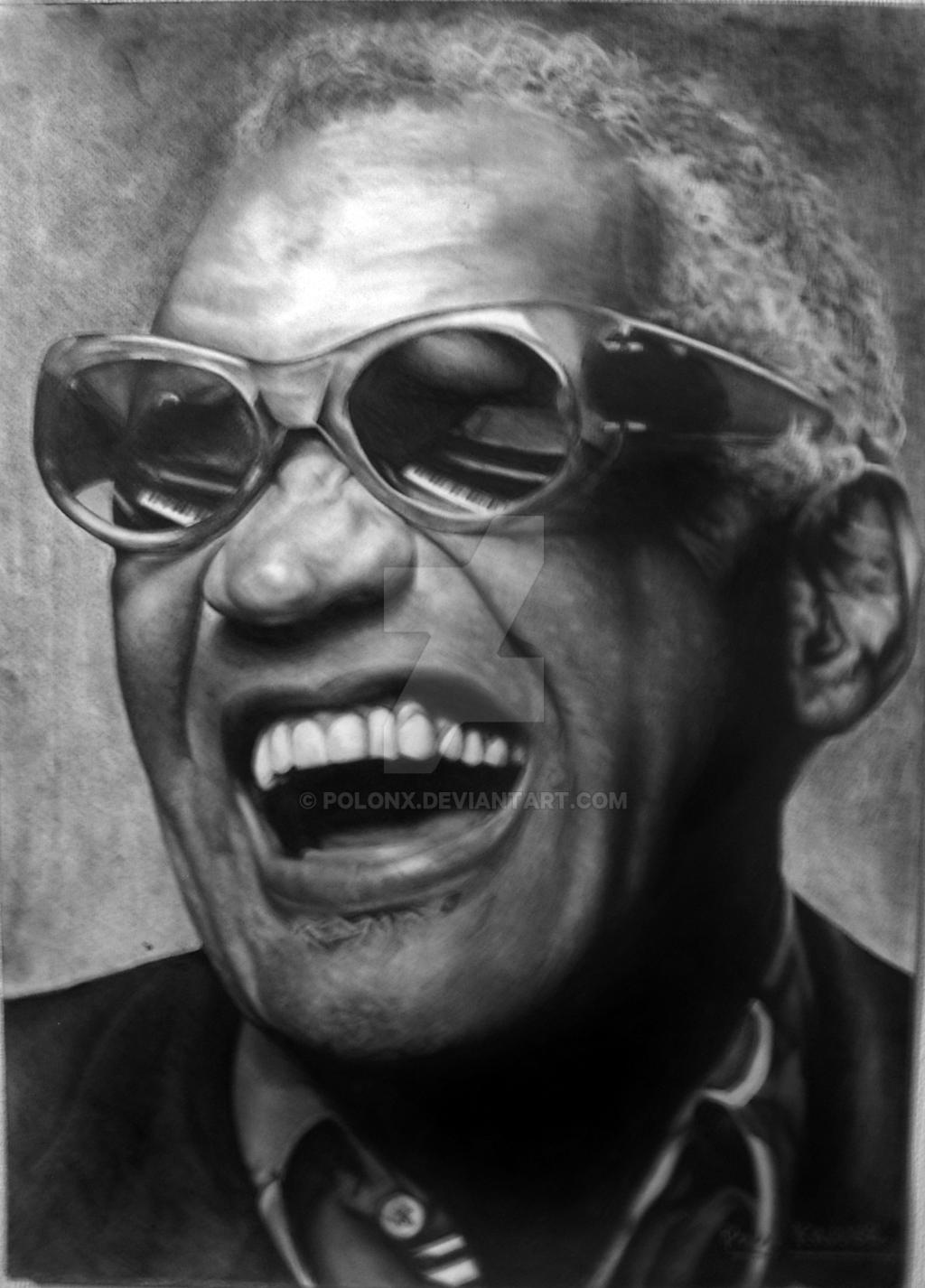 Ray Charles by Polonx on DeviantArt