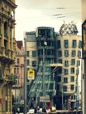 Dancing House - Prague by Cheez-it-eater