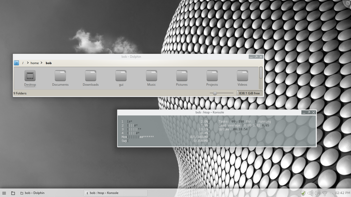 mint 17.1 KDE by GuiDoctor