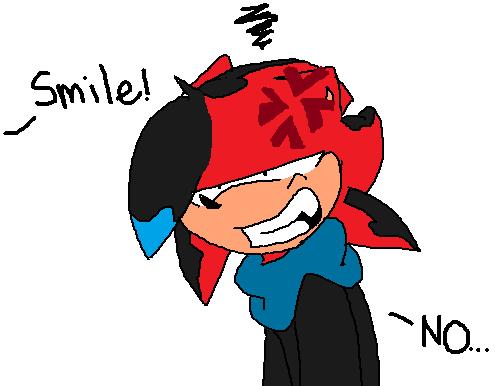 Smile!.....NO by shimkan