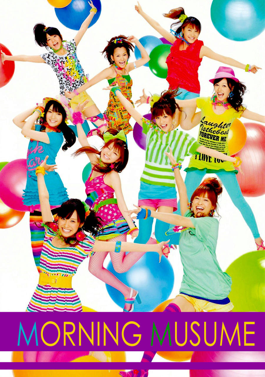 Morning Musume 2009 by EstudiosEverest
