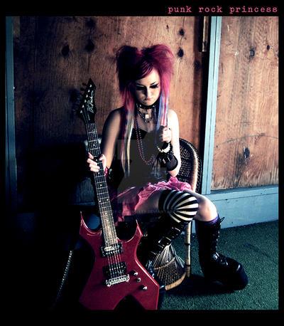 Punk Rock Princess by candy-cane-killer