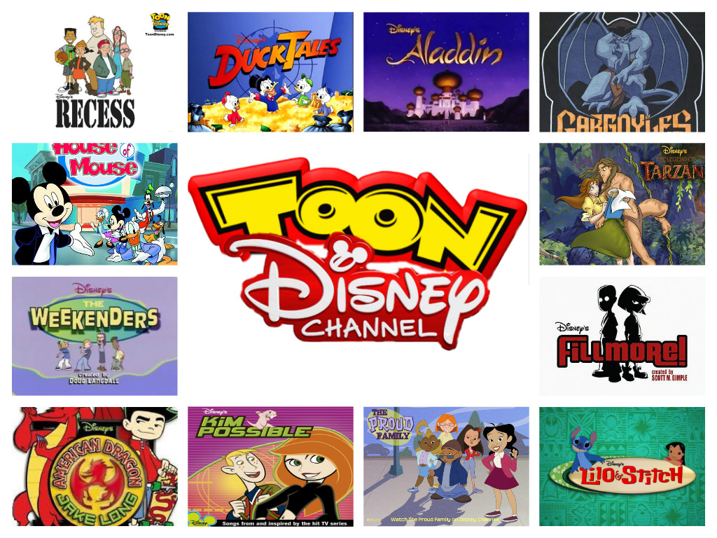 Toon disney channel programs current by craigs1996 on for Craft shows on tv
