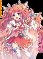 Render Anime Girl by xiiaokiwi2001