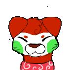 Sushi dog icon by Sarabikitty