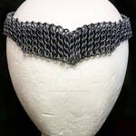 Maille Circlet -- Gunmetal/Wide by NebulaDraconian
