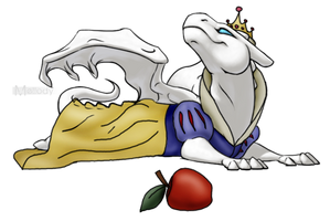 Fajira as Snow White by Channeling-Spirits