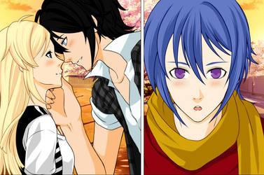 Alexy, Armin and Ichija. by NatsumeHayate