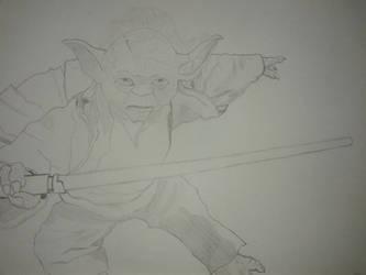 Yoda - Star Wars by NatsumeHayate