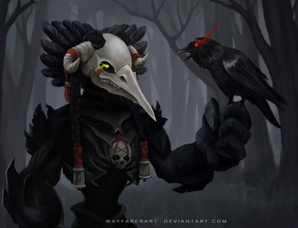 Harbinger of night by WayfarerArt