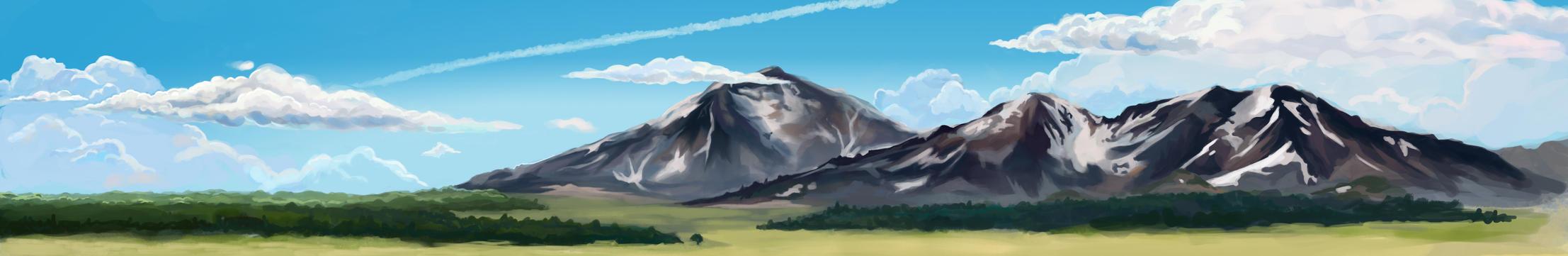 Landscape-sketch by WayfarerArt