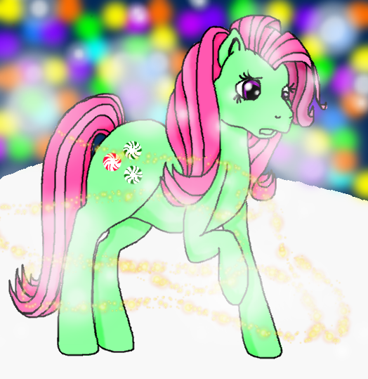 Mlp G2 Rainbow Dash My little pony g2 - minty by