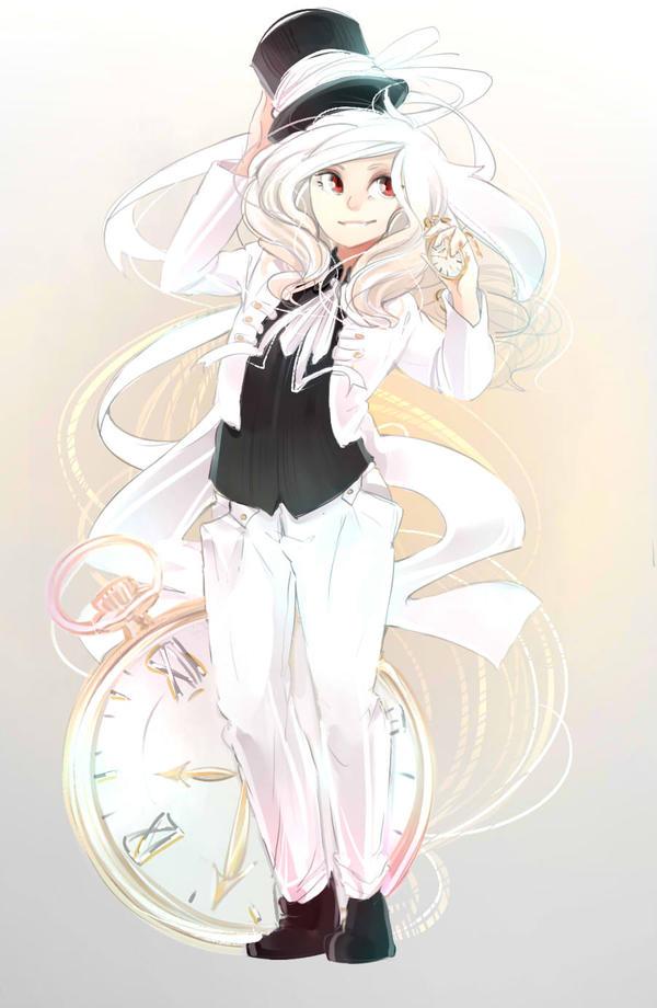 white-white rabbit by White-K