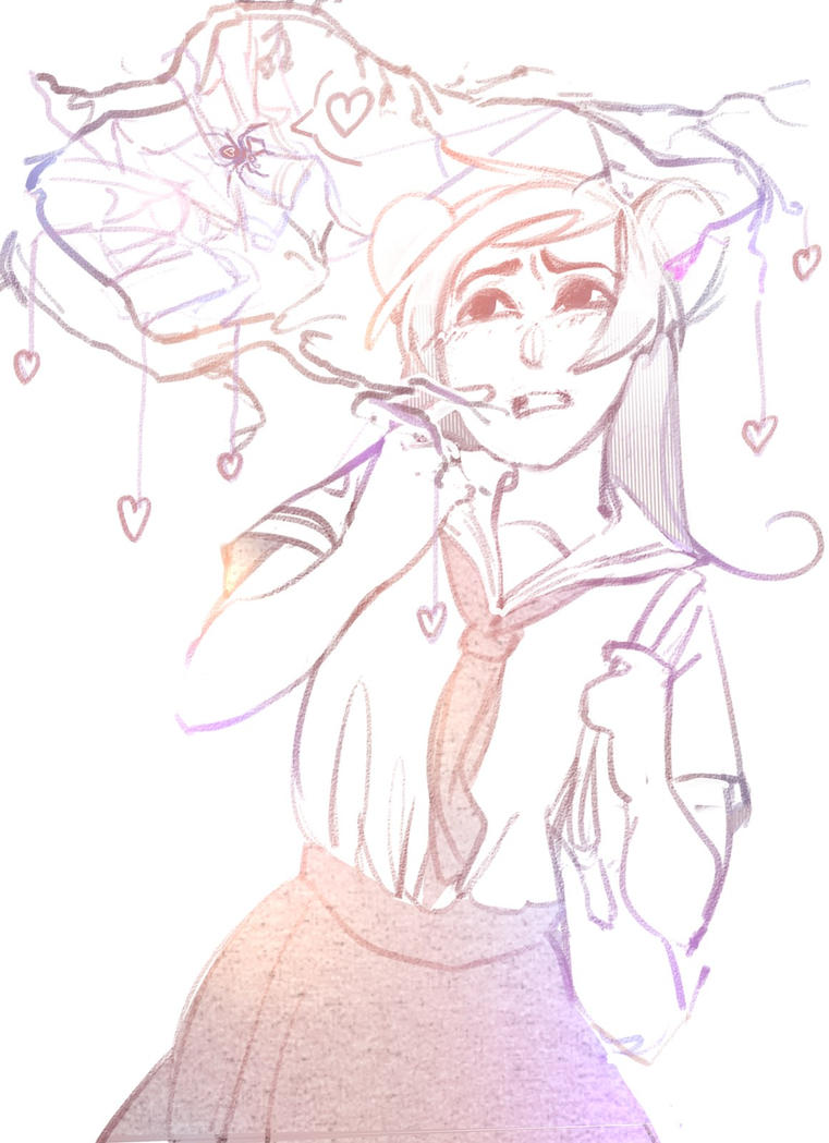 spider love by White-K