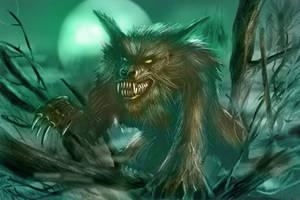 Creature Study - Werewolf by dustycrosley