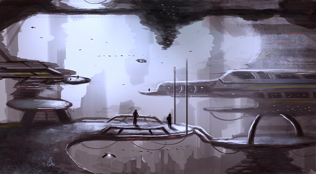 Star Dock by dustycrosley