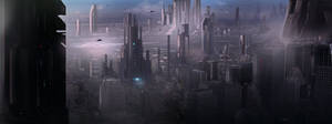 Matte Concept: Sci-FI