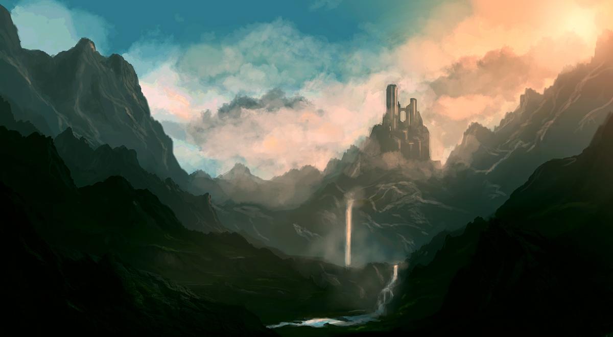 Matte Concept: Fantasy by dustycrosley