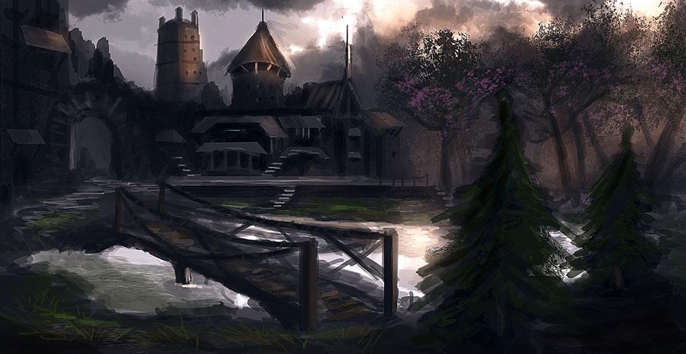 Forest Town by dustycrosley