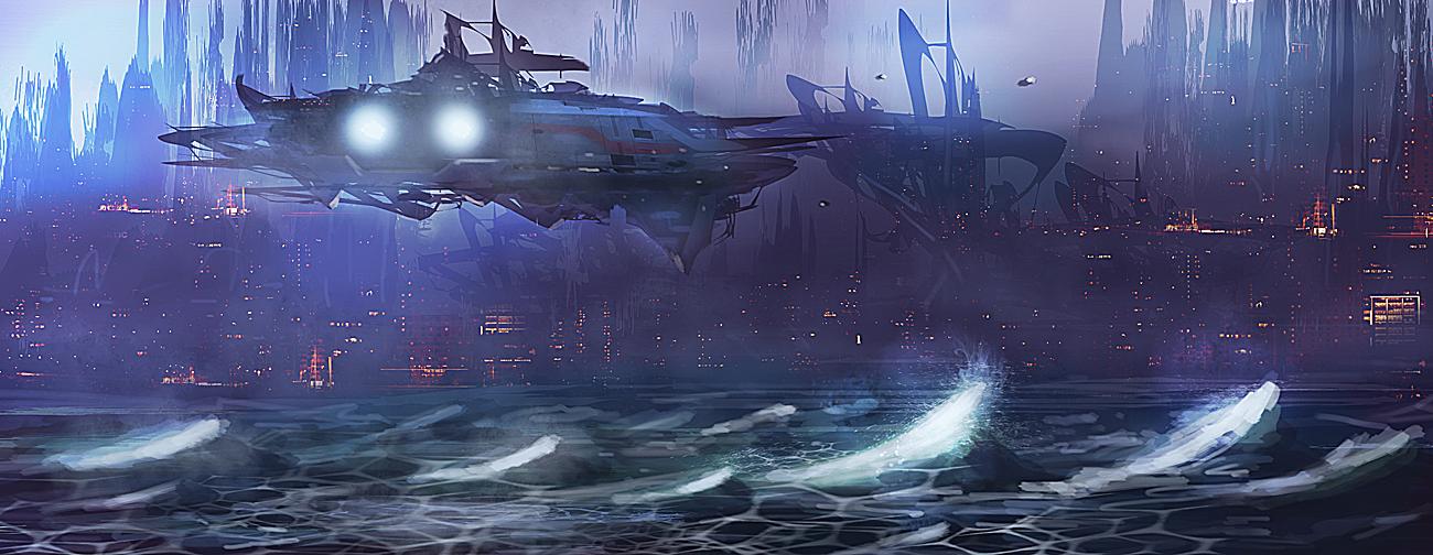 Arrival by dustycrosley
