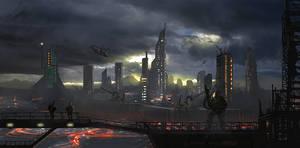 Emergence Concept Art: True Earth Coalition by dustycrosley