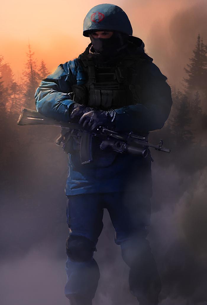 Cobra: Trooper by dustycrosley