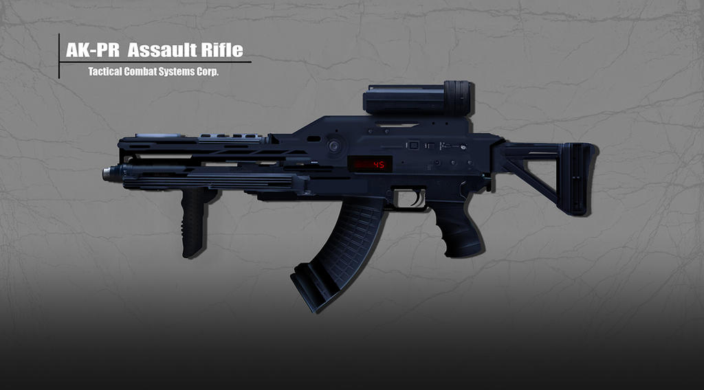 AK-PR Assault Rifle by dustycrosley