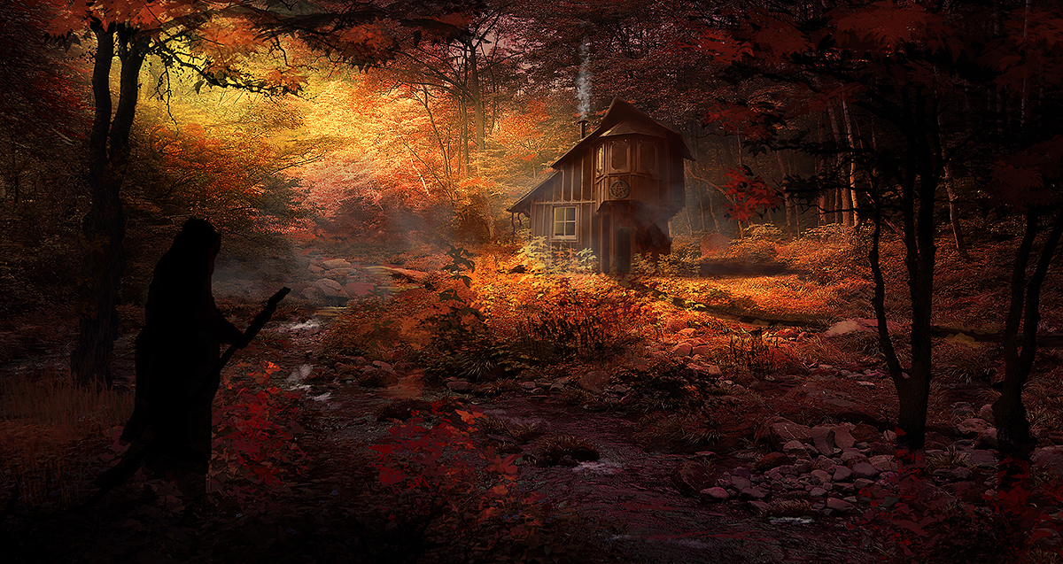 Witch's Cottage by dustycrosley