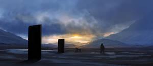 Dawn Of Man by dustycrosley