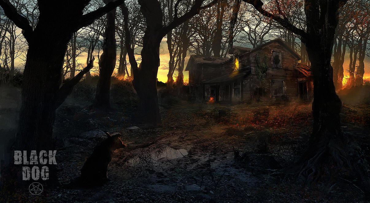Black Dog - House On Briar Ridge by dustycrosley