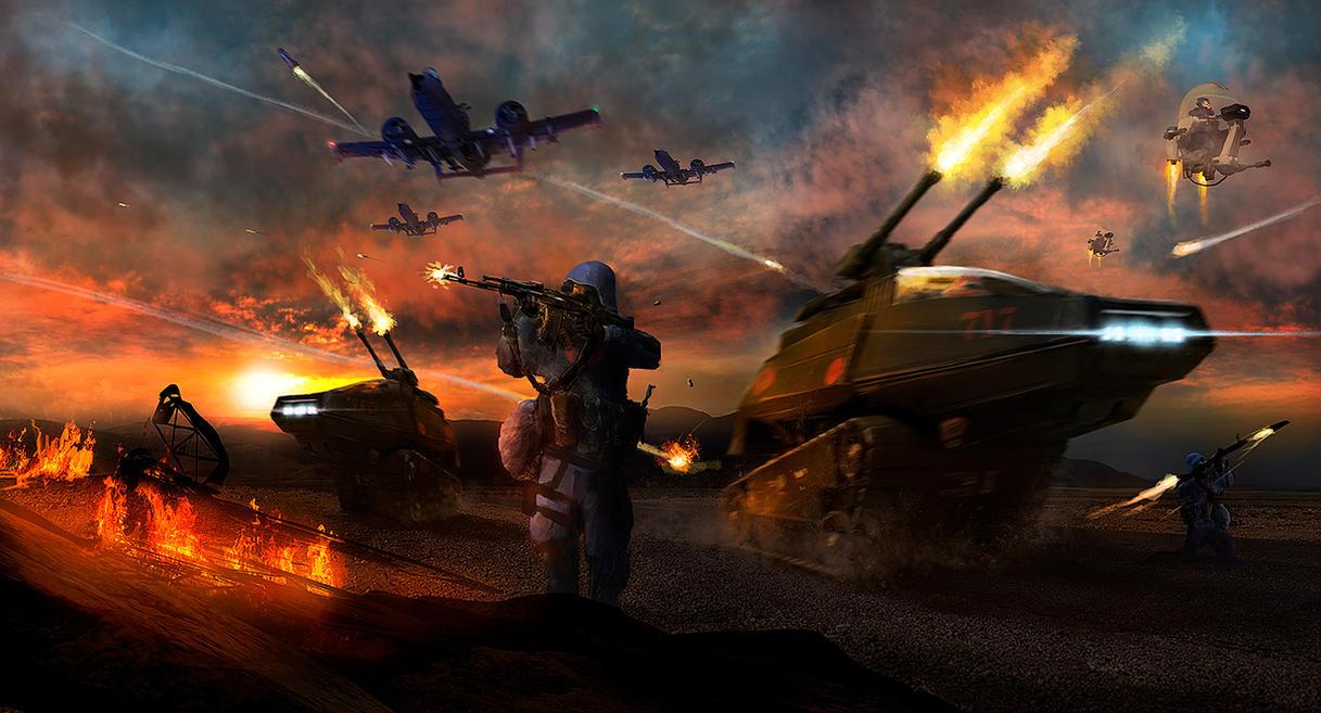 Cobra Assault by dustycrosley